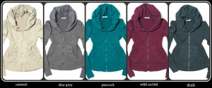 prairie cloak hoodie assortment collage